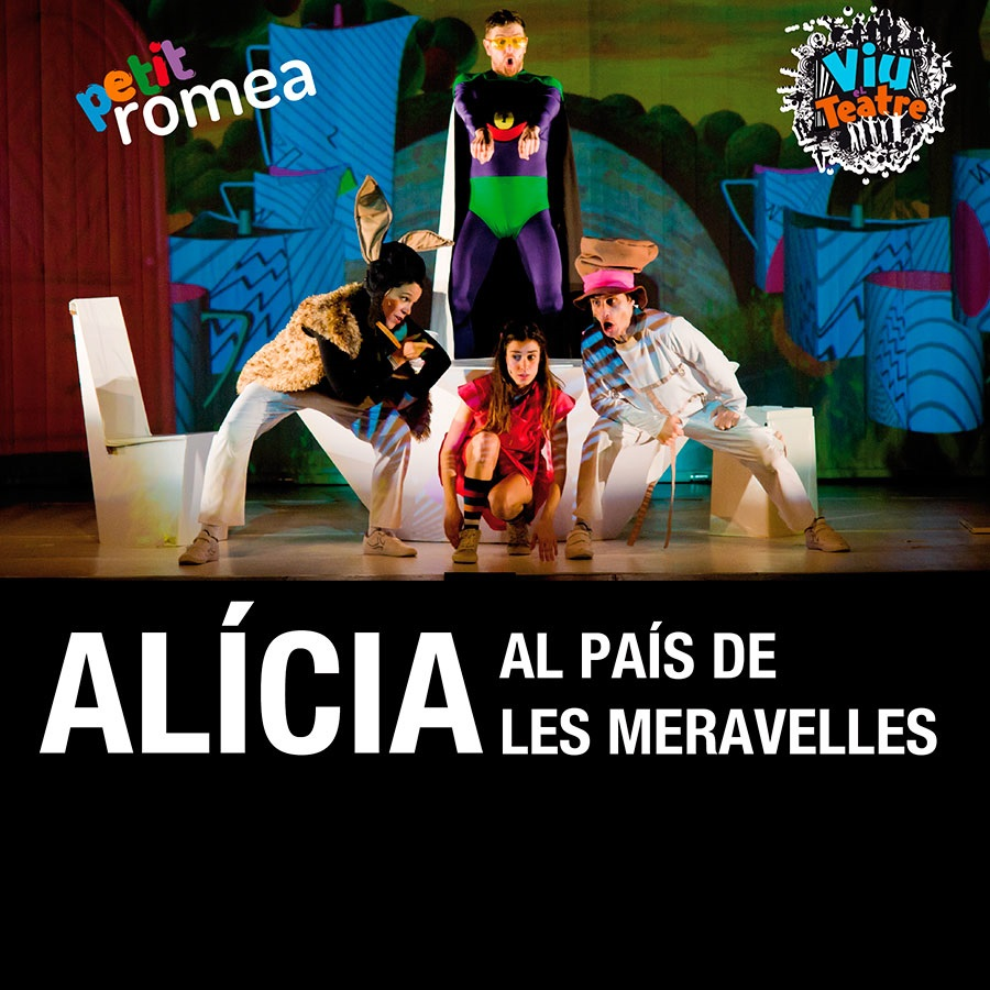 alícia al país de les meravelles teatre infantil barcelona