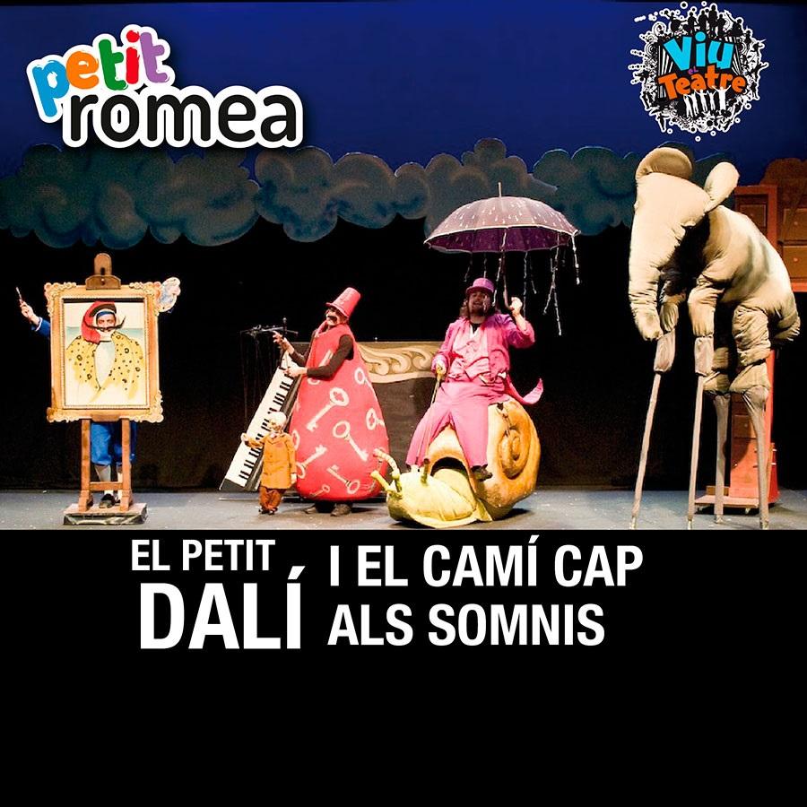 el petit dalí teatre infantil barcelona