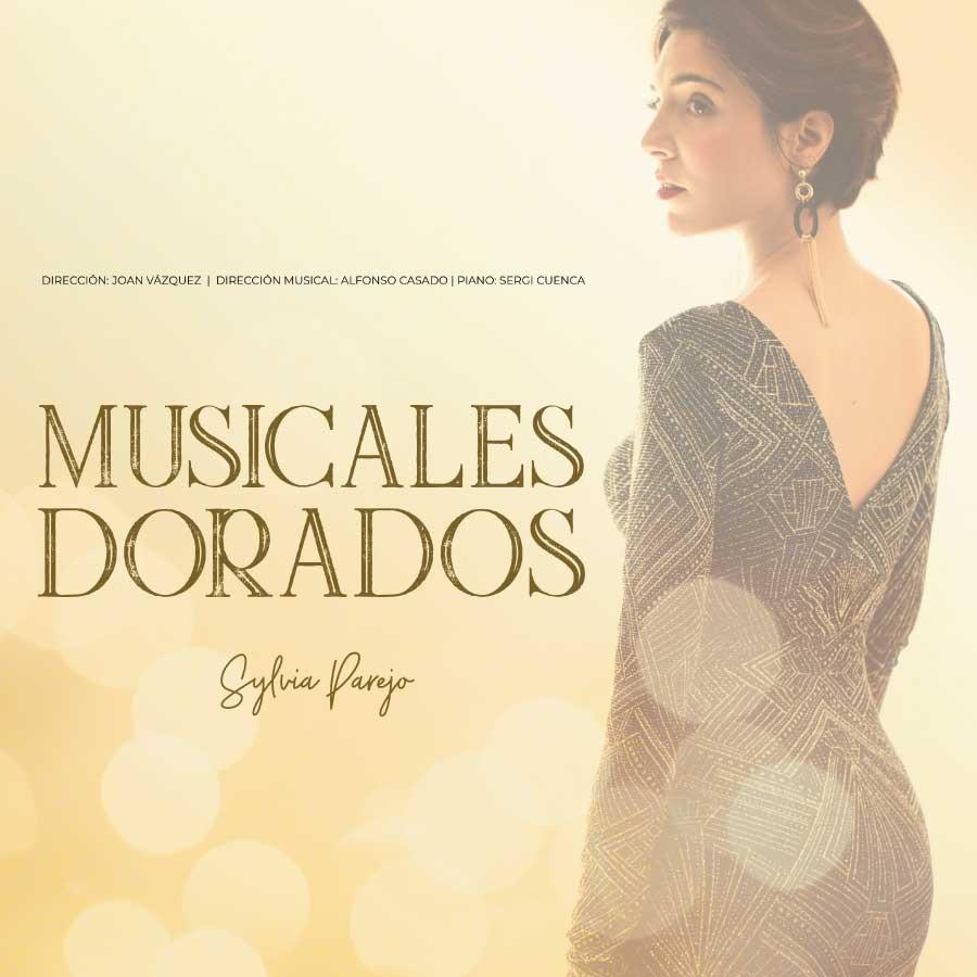 Sylvia Parejo. Musicales dorados Teatre Condal Barcelona