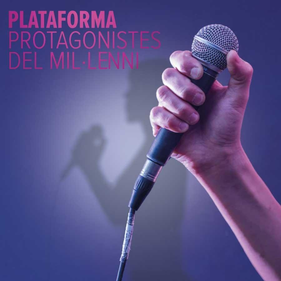 plataforma protagonistes del mil·lenni teatre condal barcelona