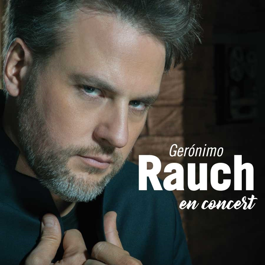 Gerónimo Rauch en concert Teatre Condal Barcelona