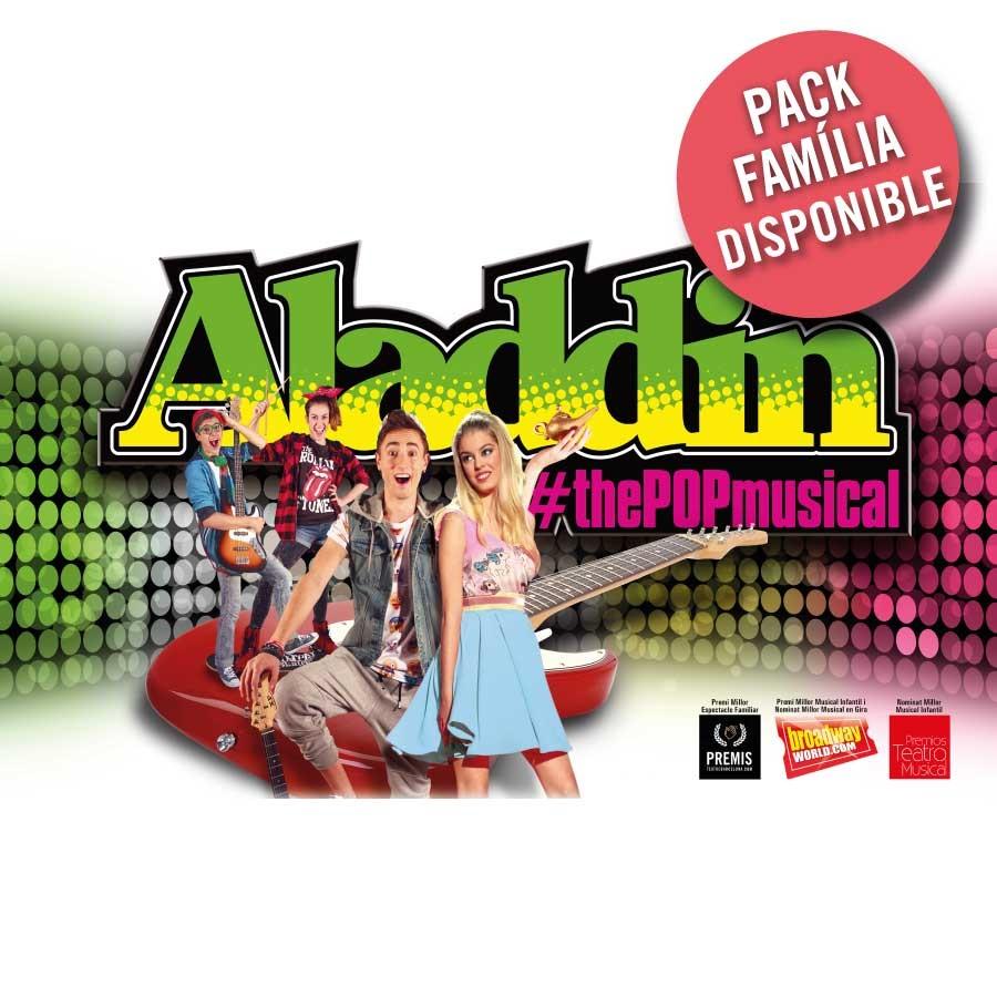aladdin the pop musical teatre condal barcelona