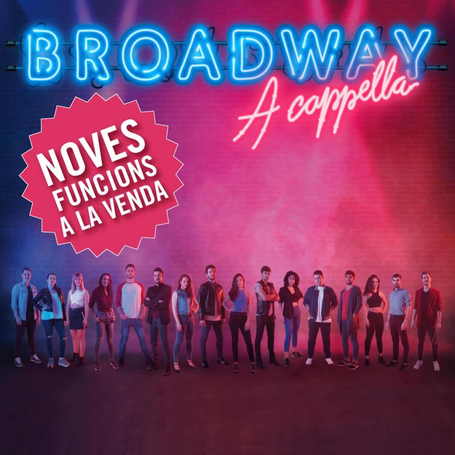 broadway a cappella teatre condal barcelona