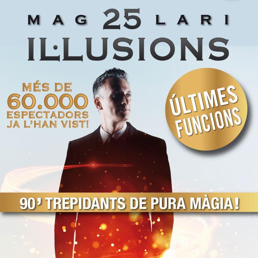 25 il·lusions mag lari teatre condal barcelona