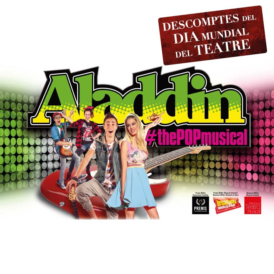 aladdin the pop musical teatre condal barcelona