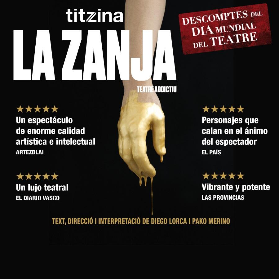 la zanja titzina la villarroel teatre barcelona