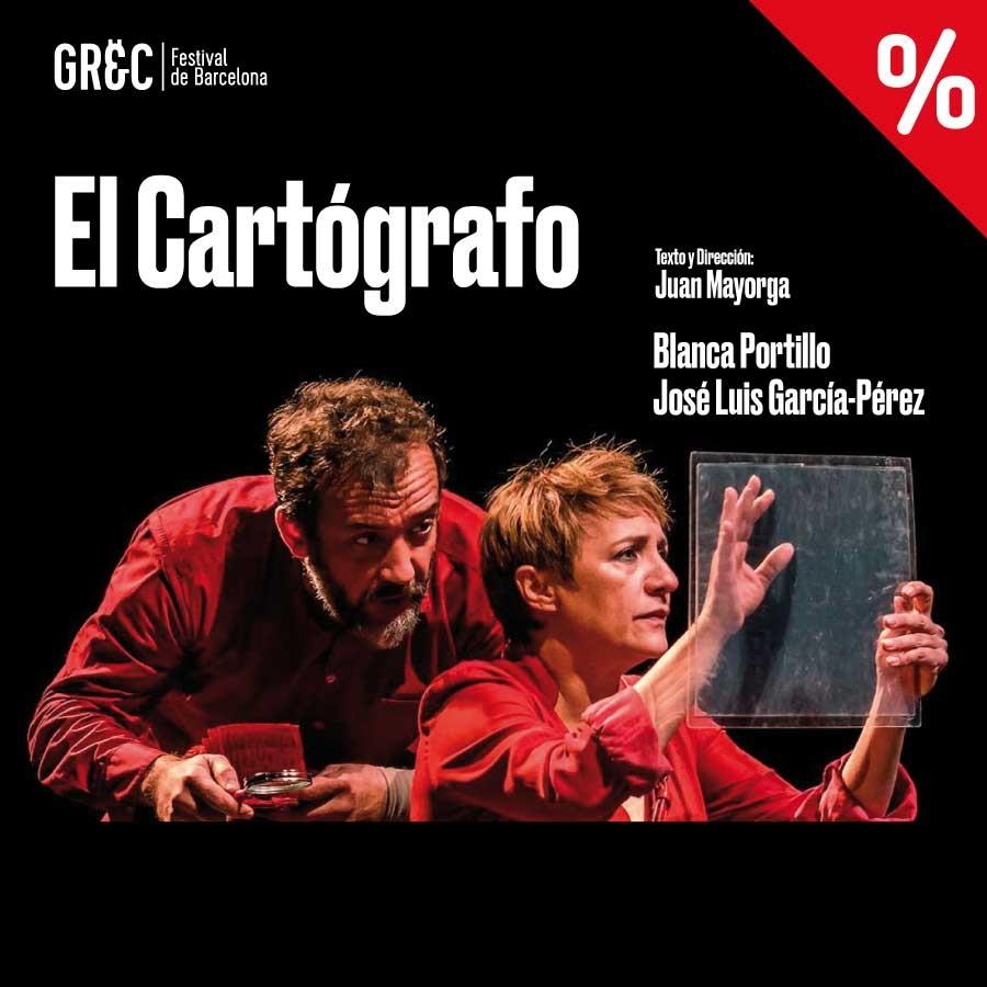 el cartografo grec teatre goya barcelona