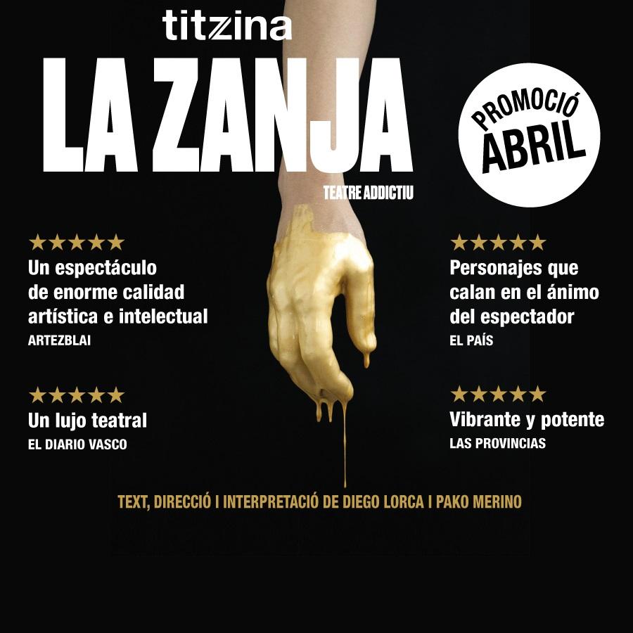 la zanja la villarroel teatre barcelona