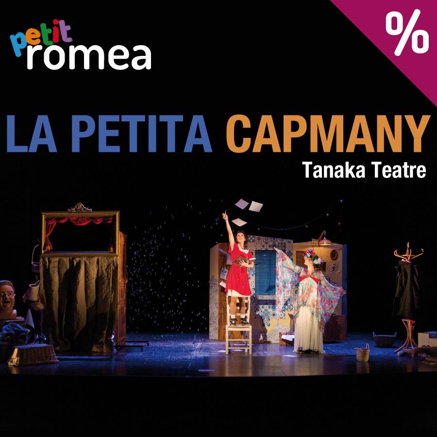 la petita capmany teatre petit romea barcelona