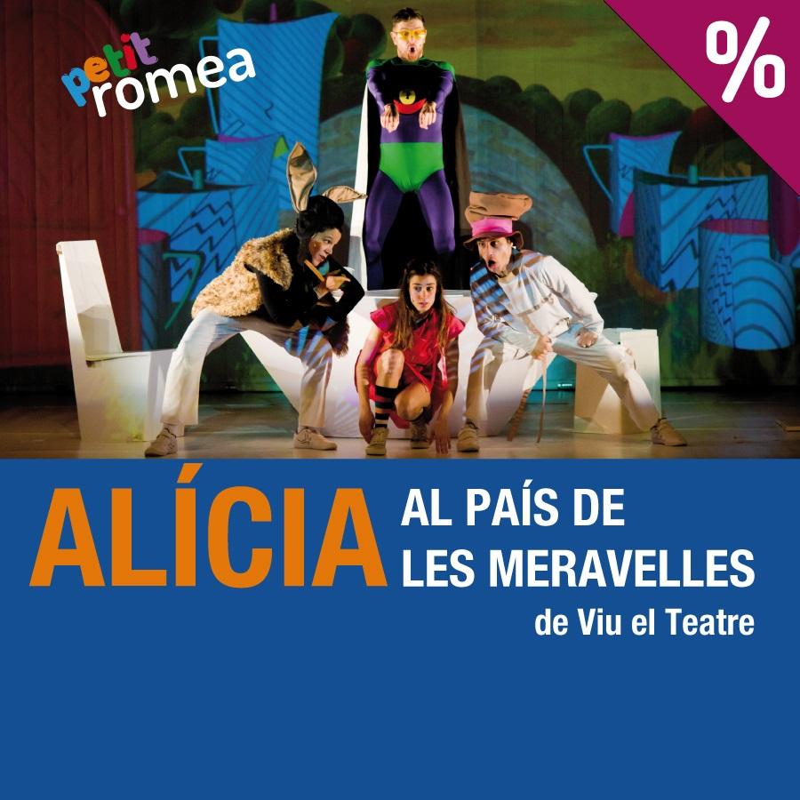 alícia al país de les meravelles teatre petit romea barcelona