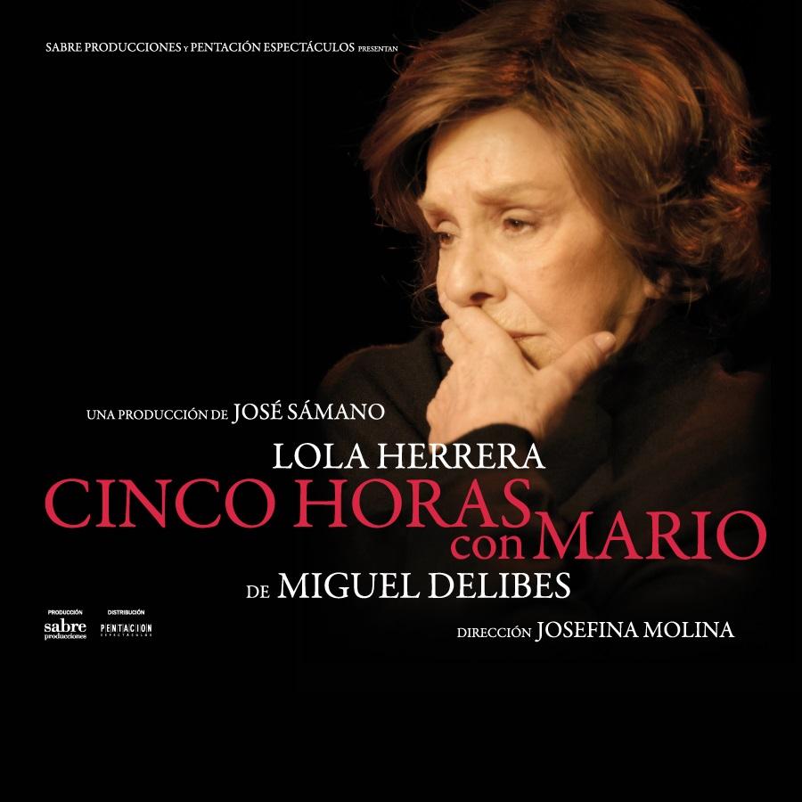 cinco horas con mario teatre goya barcelona
