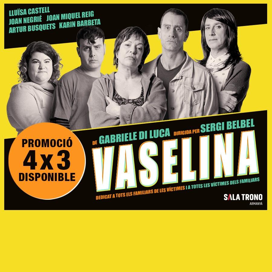 vaselina teatre la villarroel barcelona