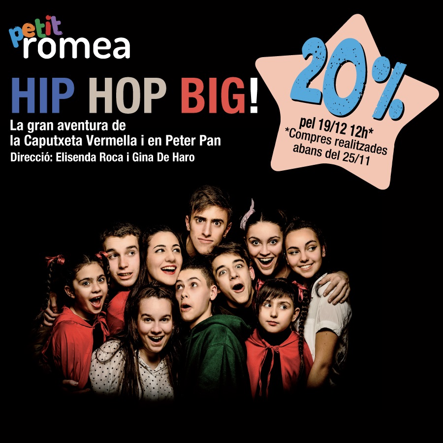 hip hop big teatre petit romea barcelona