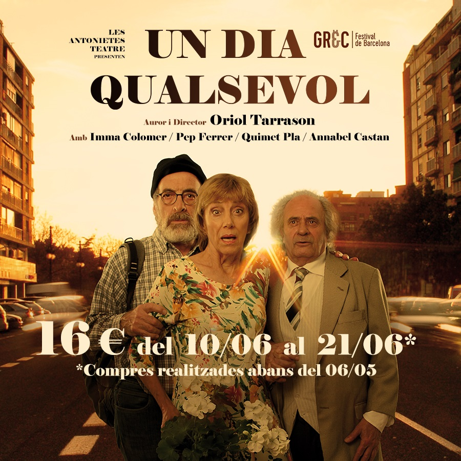 un dia qualsevol al teatre villarroel de barcelona
