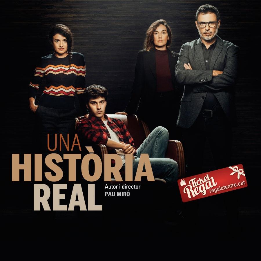 una història real teatre la villarroel barcelona