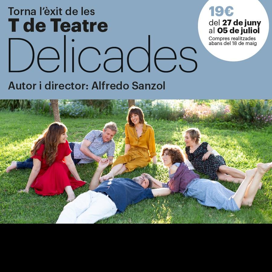delicades teatre goya barcelona