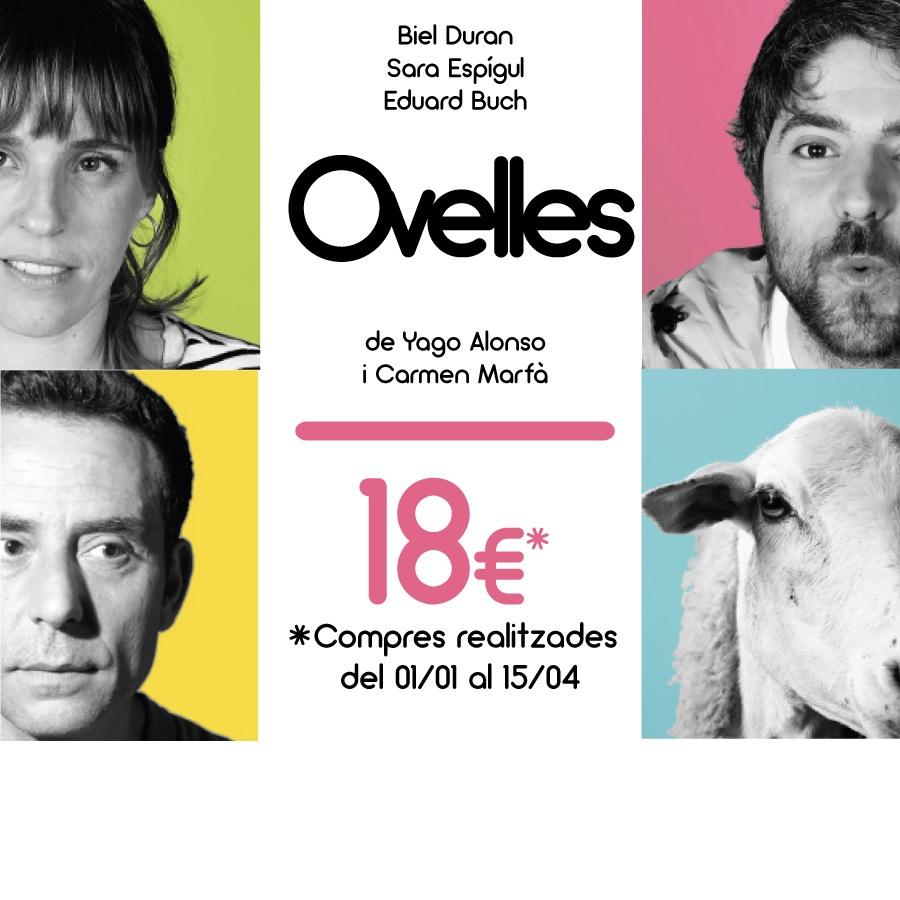 Ovelles al teatre la villarroel de barcelona