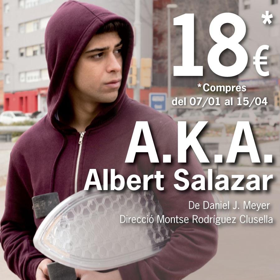 A.K.A (also knwon as) al teatre la villarroel de barcelona