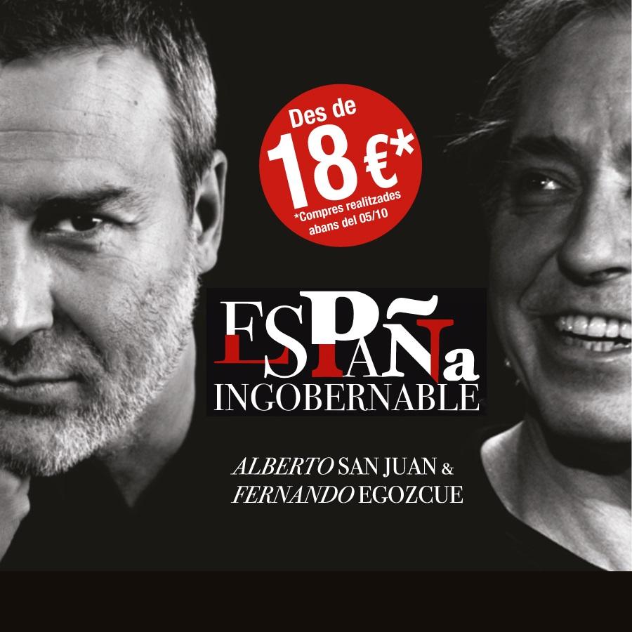 espana ingobernable al teatre condal de barcelona