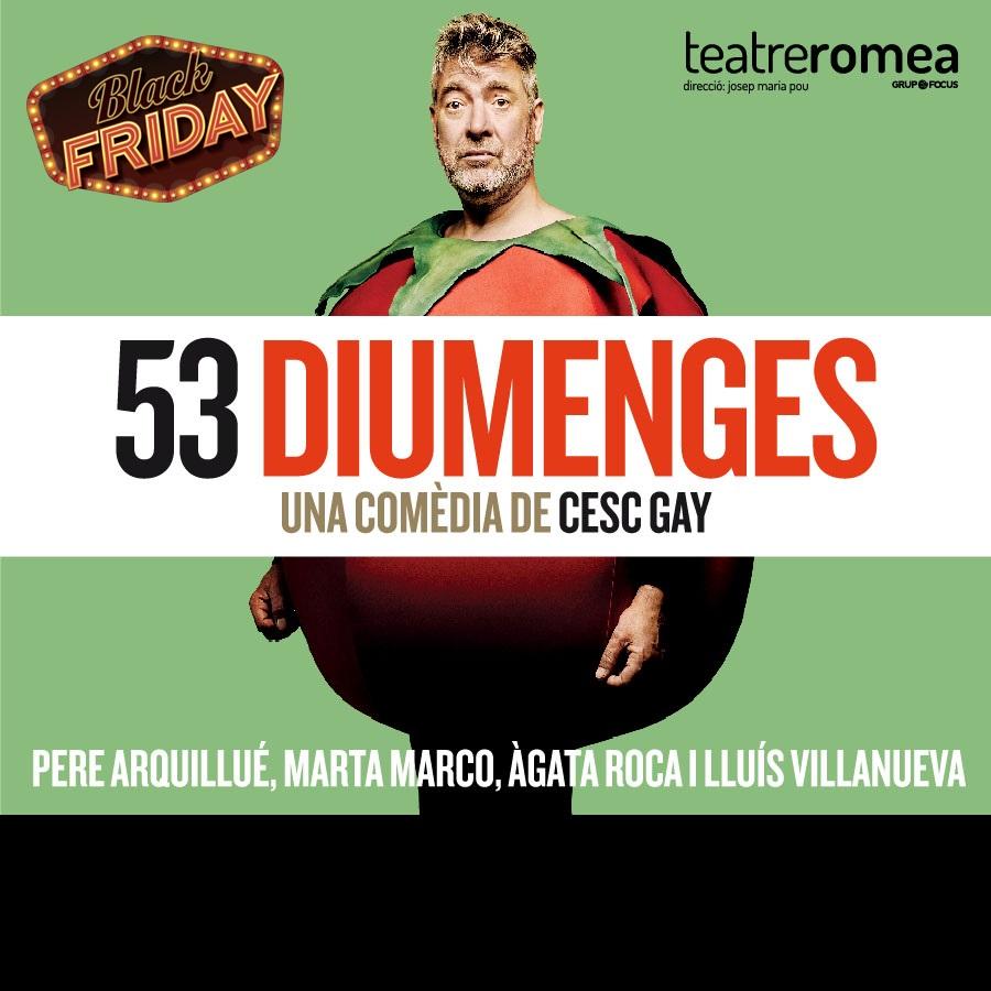53 diumennges al teatre romea de barcelona