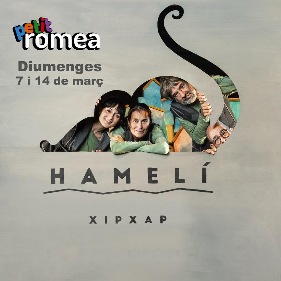 hameli al teatre romea de barcelona
