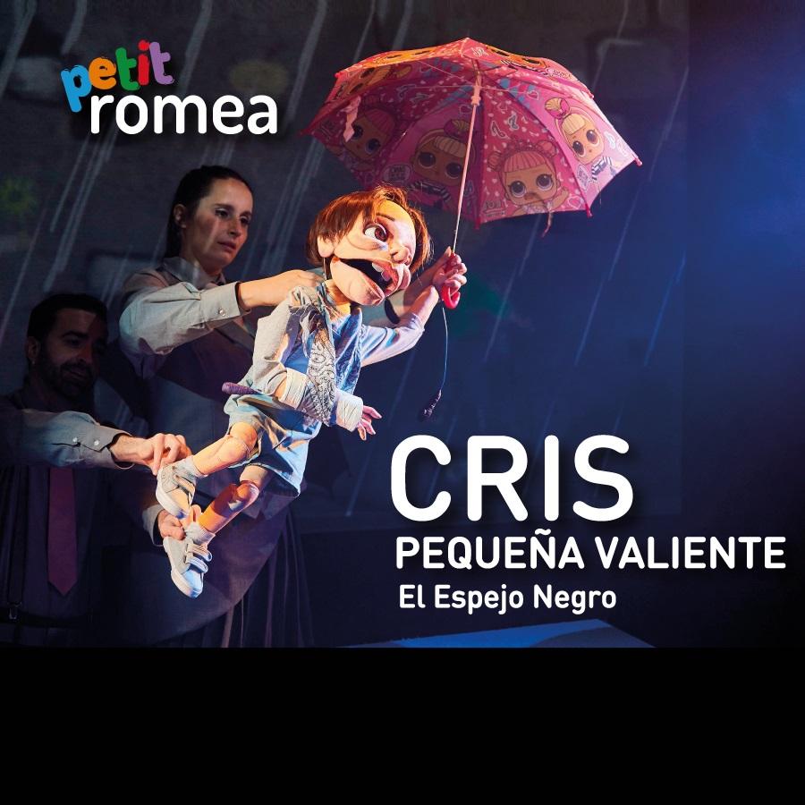 cris pequeña valiente al teatre romea de barcelona