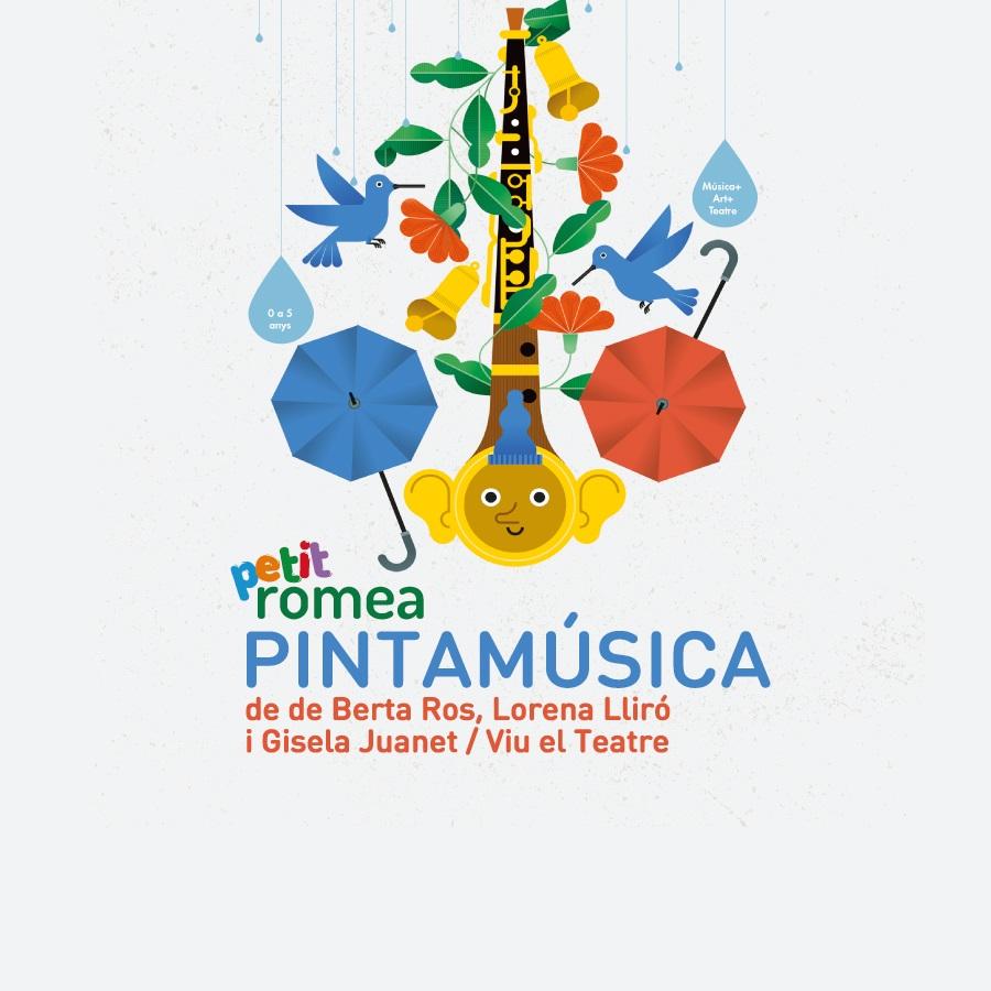pinta música al teatre petit romea de barcelona