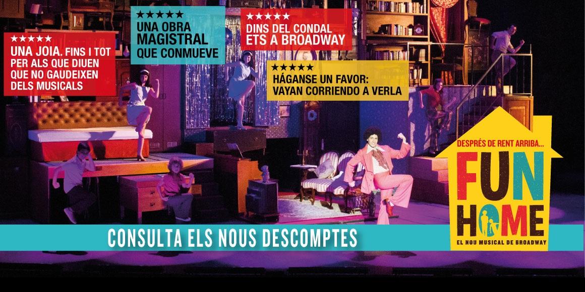 fun home musical onyric barcelona