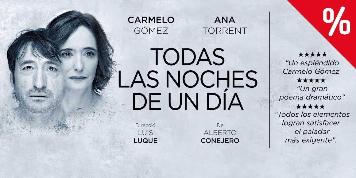 todas las noches de un día teatre goya barcelona