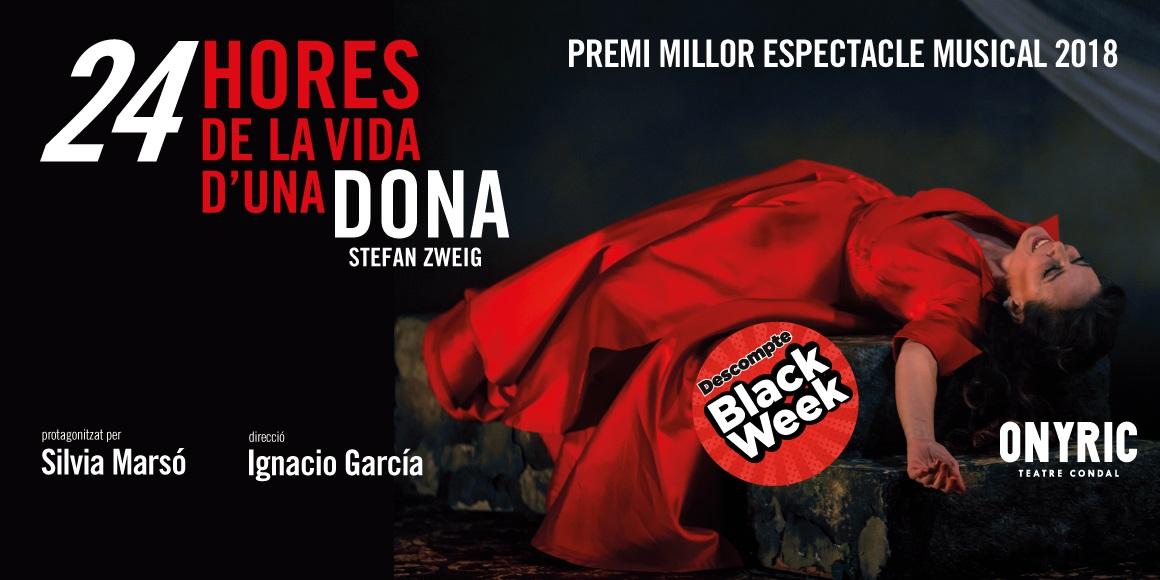 24 hores de la vida d'una dona teatre condal barcelona