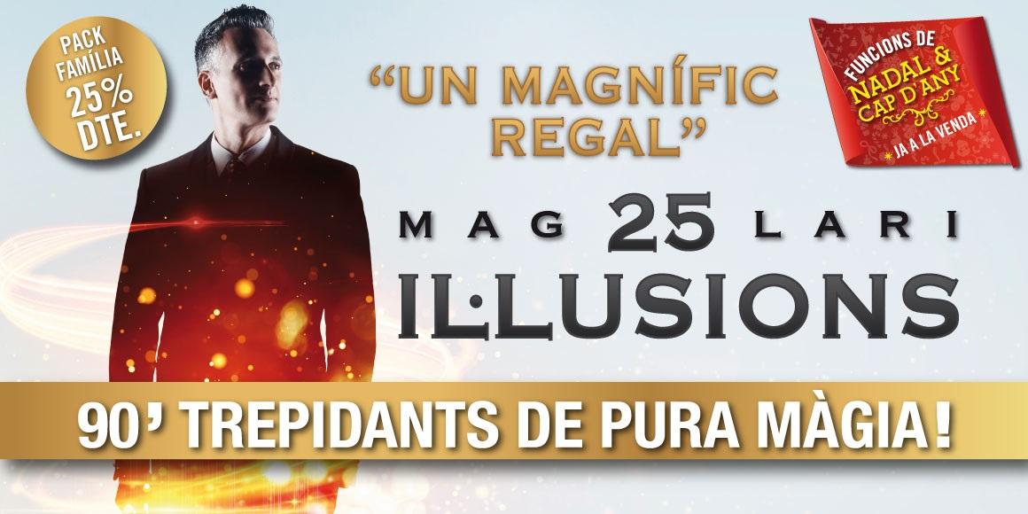 25 il·lusions mag lari onyric teatre condal barcelona