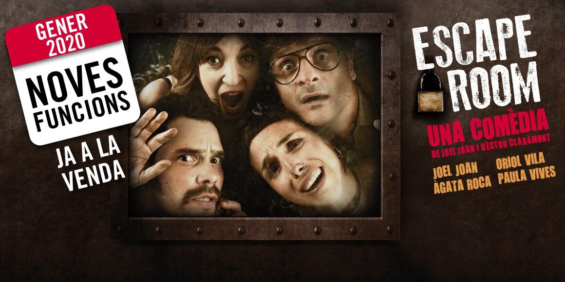 escape room teatre goya barcelona