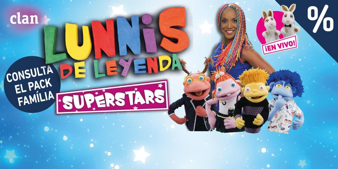 Lunnis de leyenda Superstars en vivo Teatre Condal Barcelona