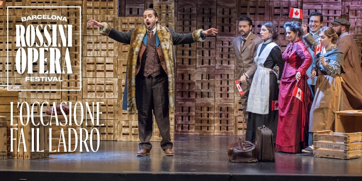 ocassione fa il ladro al teatre romea de barcelona