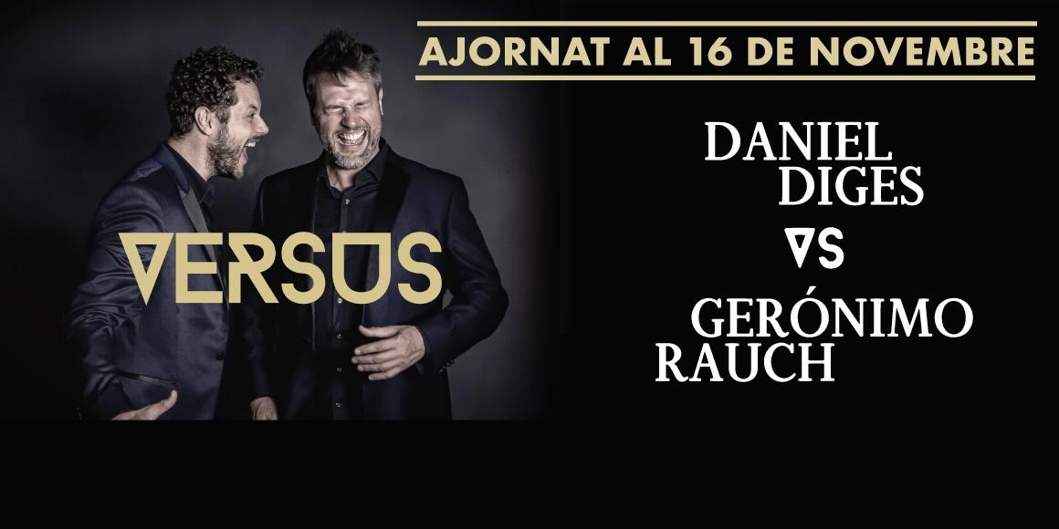 dainel diges vs geronimo rauch al teatre condal de barcelona