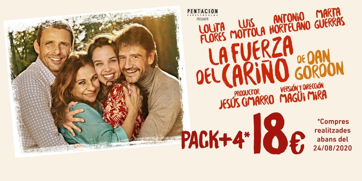 la fuerza del carino en el teatre goya de barcelona