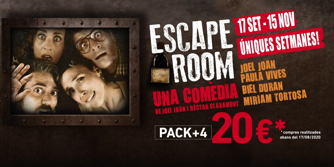 escape room al teatre condal de barcelona